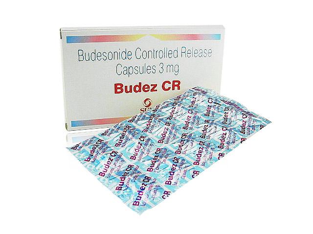 エントコートのジェネリック医薬品 ブデズCR 3mg 50カプセルの最安値薬通販サイト