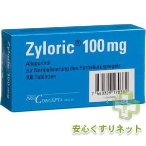 ザイロリック 100mg 100錠の副作用と通販