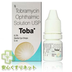 トバ点眼液 0.3% 【トブラマイシン】5mlの激安薬ネット通販はこちら