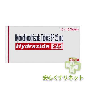 ヒドロクロロチアジド 25mg 100錠の最安値薬通販サイトはこちら