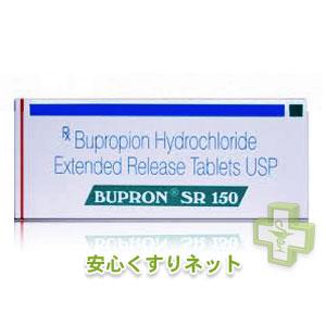 ブプロンSR Bupron SR 150mg【ザイパン・ジェネリック】100Tab in 1 box
