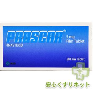 プロスカー PROSCAR 5mg 28Tabの激安薬通販
